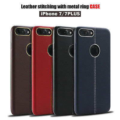 Ultra Thin Soft Back Skin  Leather Case Cover For Apple Iphone 6 6S 7 / 7 Plus