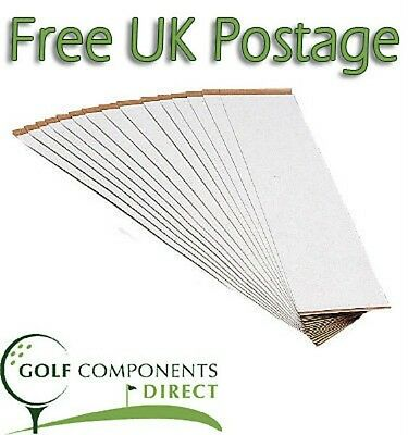 Economy Double Sided Golf Grip Tape Strips x 15