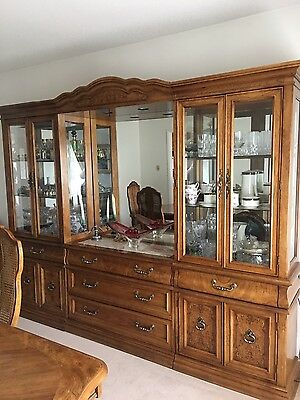 Vintage Hibren Estate by Bernhardt Gallery Collection Dining Room Suite