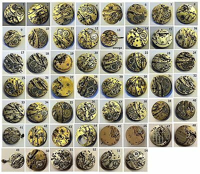 (20) Orologio - Pocket - Trench - WWI - Movement Vintage Work / for Repair +++