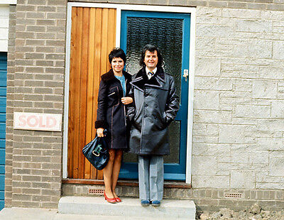 Rodney Bewes and Brigit Forsyth UNSIGNED photo - H6366 - The Likely Lads