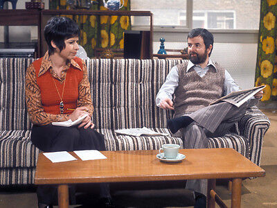 Rodney Bewes and Brigit Forsyth UNSIGNED photo - H6370 - The Likely Lads