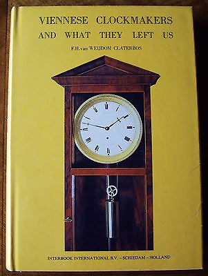 Claterbos, F.H. Van Weijdom, Viennese Clockmakers; Vienna Regulator reference