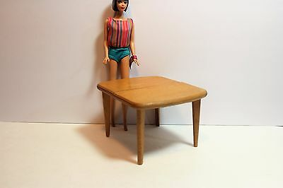 1960s Vintage STROMBECKER Wooden Doll House Furniture  Dining Table