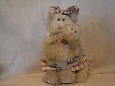 investment collectibles ~ boyds bears ~ momma mcfuzz & missy cats