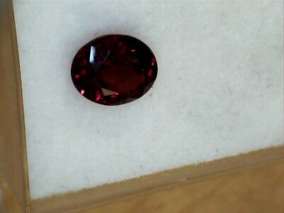 Beautiful loose very fine Burmese fabulous pillar box red ruby gem gemstone
