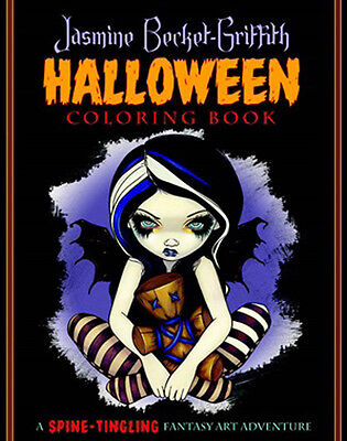 Jasmine Becket-Griffith Halloween Colouring Book
