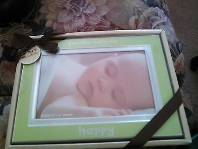 "Carter's Little Giftables Frame "" Grandma Makes Me Happy ""  4"" X 6"""