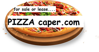 PIZZA caper.COM website domain high SEO excellent BRANDING