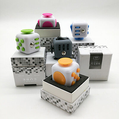 Fidget Cube Anxiety Stress Relief Better Focus Autism ADHD Toys