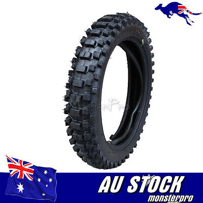 90/100 14'' Rear Knobby Tyre & Tube Dirt Pit Bike for Atomik Thumpstar Tire