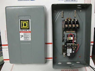 Square D 8903Lxg40 4P Lighting Contactor 120V Coil