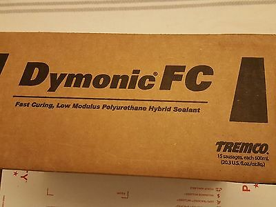 Tremco Dymonic Fc Anodized Aluminum Polyurethane Sealant, Case Of 15 Sausages
