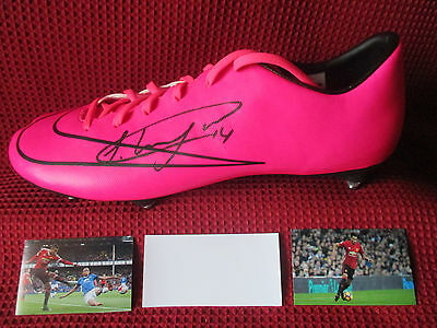 Manchester United Jesse Lingard Signed Nike Mercurial Boot - New - Photo Proof