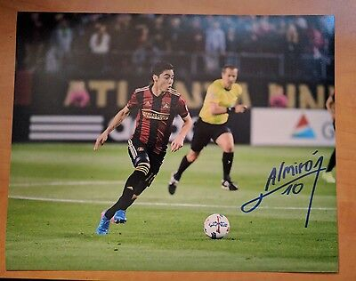Miguel Almiron Signed 8x10 Photo Atlanta United MLS
