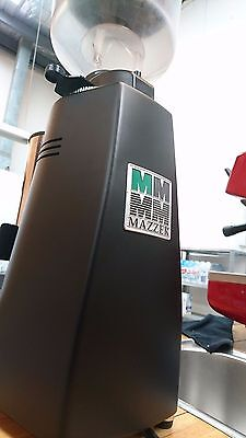 Mazzer Major Commercial Coffee Machine Automatic Matt Black