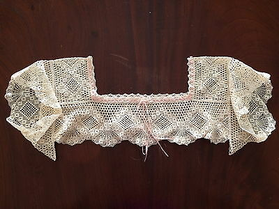 Vintage Crochet Camisole Lace Work For A Camisole Top