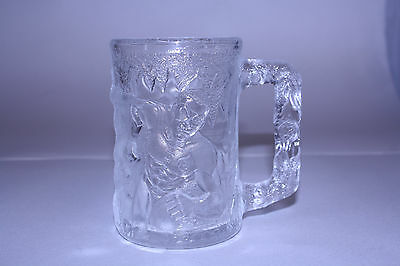 Batman Forever McDonald's Robin Collectible Glass 1995 Vintage Glass Mug