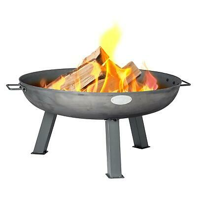Cast Iron Fire Pit Garden Firepit Patio Heater Brazier 750mm Diameter