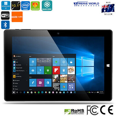 Ultrabook Tablet PC Licensed Windows 10 And Android 5.1 4GB RAM - Black