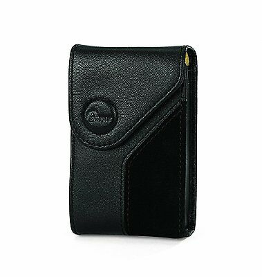 Lowepro Napoli 5 Soft Leather Digital Camera Case Pouch - Black