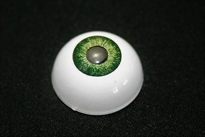 Eyes for reborn acrylics 22 mm 1 Pair green bjd doll dollfie ooak crafts