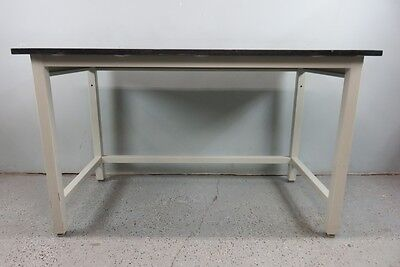 Chemical Resistant Black Epoxy Lab Table with Warranty