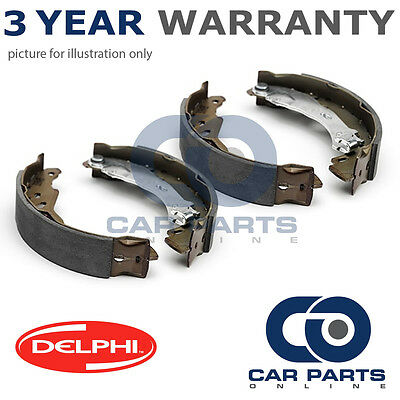 Set Of Rear Delphi Lockheed Brake Shoes For Toyota Hiace Wagon Hilux (1988-2006)