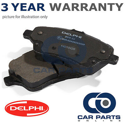 Front Delphi Lockheed Brake Pads For Toyota Corolla Iq 2.0 1.0 1.33 1.4 2004-07
