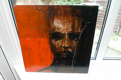 Guy Denning - The View from Boyland ORIGINAL CANVAS