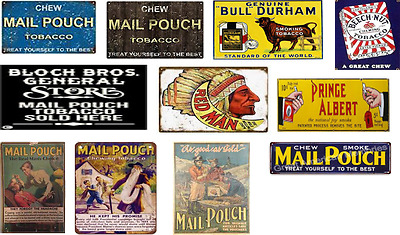 ho scale vintage chewing tobacco decals