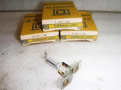 Lot Of 3 Square D Heater Coil Element Ar1.68  Overload Relay Thermal Unit