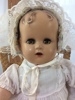 Antique Composition Doll Ideal Baby Beautiful 🌷Miracle On 34th St 16""