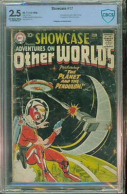 Showcase Comics #17 [1958] Certified[2.5] 1St Adam Strange