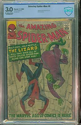Spiderman #6 [1963] Certified[3.0] 1St Lizard
