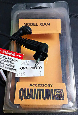 NEW Quantum XDC4 Power Cable for Battery 1 Compact/Turbo Compact to Fuji Minolta