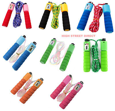 9 - Feet Skipping Rope With Counter Jump Speed Exercise, Gym Fitness Workout
