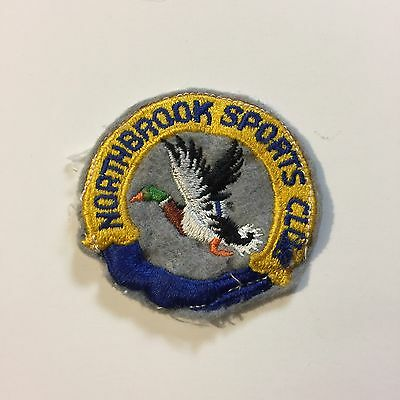 Vintage Patch Northbrook Sports Club Duck Hunting