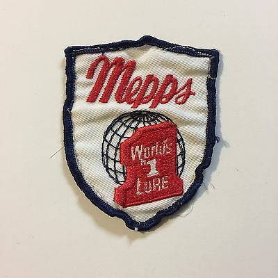 Vintage Patch Mepps Worlds #1 Fishing Lure