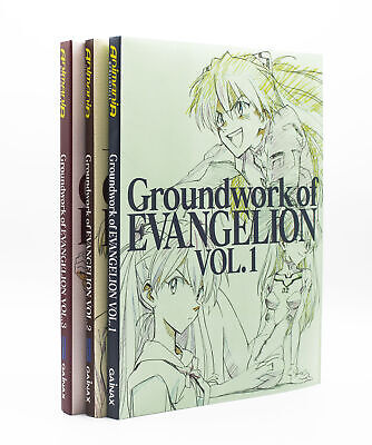 Groundwork of Evangelion Komplett Bd. 1 - 3  -  ISBN