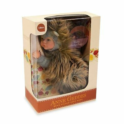 ANNE GEDDES 'Baby Hedgehog' Bean Filled Soft Doll - New in Box