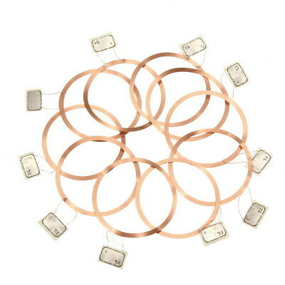 10Pcs NFC Coil UID Changeable RFID Card with Block Writeable Chip for MF1 1K S50