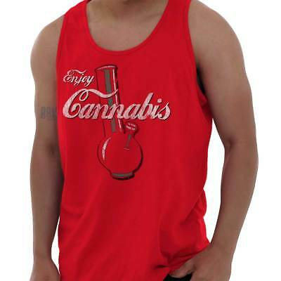 420 Marijuana Stoner Weed Pot Joint Novelty Adult Tank Top T-Shirt Tees Tshirt