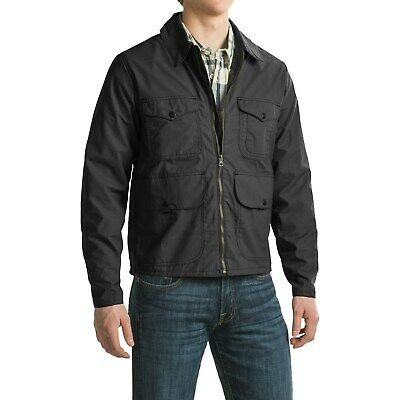 FILSON Men's Bell Bomber Jacket, Waxed Cotton - Made in USA