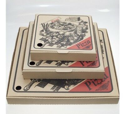 """NEW 11"""" INCH Pizza Box 100/Pack"""
