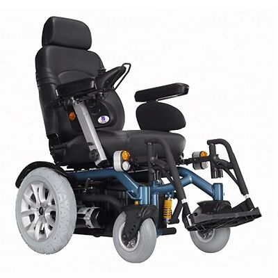 NEW Heartway Heavy Duty Challenger Power Electric Mobility Wheelchair - Black