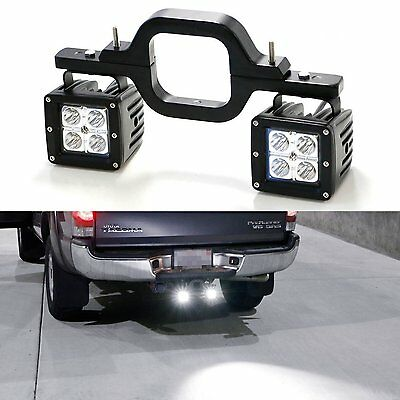 1Pc Tow Hitch Mount Pod Backup Reverse Lights  For JEEP Off-Road 4x4 Truck SUV