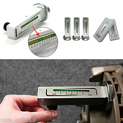Car/Auto Magnetic Camber Castor Strut Wheel Alignment Gauge Measure Garage Tool