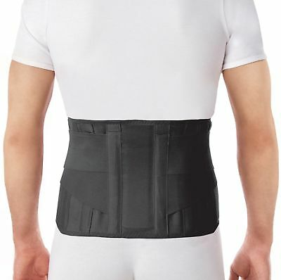 Lumbar Lower Back Brace Support Belt / Pain Relief and Comfort Posture - Large