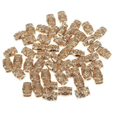 50pcs 15.5mm Golden Bell Shaped Cord Fastener Single Hole Cord Lock Stoppers